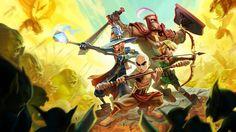 Dungeon Defenders 2, Enrique Rivera on ArtStation at http://www.artstation.com/artwork/dungeon-defenders-2