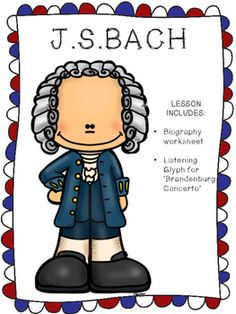 A fun activity for young students to study the music of Bach. Included in the pack is a composer biography worksheet and a listening glyph for the Brandenburg concerto.