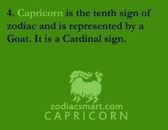 Capricorn Zodiac Traits; The Powerful Goat!! | the perfect line