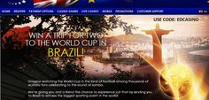 Win a trip for two to the World Cup in Brazil 2014  http://freespingratis.com/casinoeuro-win-a-trip-for-two-to-the-world-cup-in-brazil-2014/