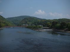 Uji, Kyoto 宇治橋からの景色