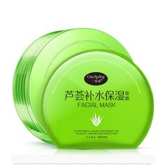 Hot! Powerful Aloe Vera Facial Mask Deep Moisturizing Nourishing Moisturizing Mask Pro Skin Care Product 6pcs/set WR52 #Affiliate