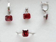 $66 925 STERLING SILVER SET, info@bijuterie-online.ro 925 Silver, Sterling Silver, Personalized Items, Earrings, Jewelry, Women, Ear Rings, Stud Earrings, Jewlery
