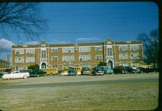 Morristown Hamblen high School in the 1950's. What is now called Morristown East.