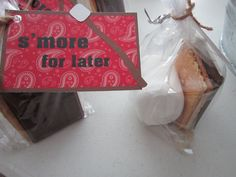 12 Smore Western Party Favor Tags by DKDeleKtables on Etsy, $6.00