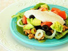 Raw on $10 a Day (or Less!): Taco Salad ~ Raw Vegan Recipe