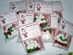Snowman Soup, snowman poop and other cute ideas! Christmas Craft Fair, Christmas Party Favors, Christmas Gifts For Friends, Christmas Activities, Christmas Printables, Christmas Treats, Holiday Crafts, Holiday Fun, Christmas Holidays