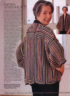 Crochet Jacket, Crochet Blouse, Crochet Poncho, Knitted Shawls, Diy Crafts Crochet, African Flowers, Vogue Knitting, Modern Crochet, Knit Fashion