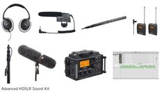 A simple blog post on basic sound kits for HDSLR Video Shooters.