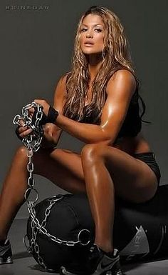 The most popular picture of former WWE Diva Eve Torres that I have ever pinned!