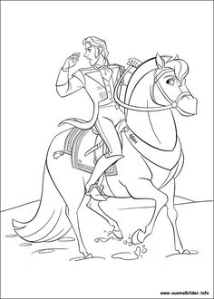 Prince Hans And Sitron Coloring Page