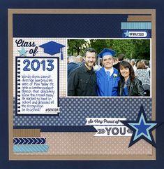 Class of 2013...Graduation Layout