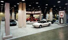 Garages, Car Garage, Showroom, Vintage Cars, Van, Garage, Vans, Classic Cars, Fashion Showroom