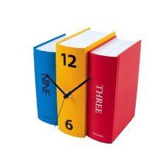 book clock book