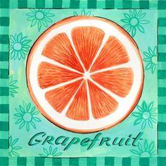 Grapefruit Slice by Elena Vladykina | Ruth Levison Design