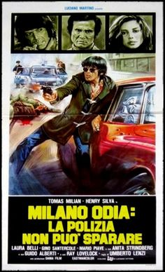 The Death Dealer (Milano odia: la polizia non può sparare, aka Almost Human) (1974, Italy)