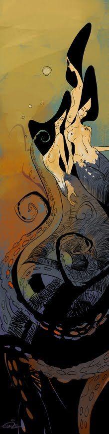 mermaid by EduardVisan.deviantart.com