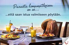 Pöytä on katettu:  http://www.finnmatkat.fi/Lomavalikoima/All-Inclusive--lomat/