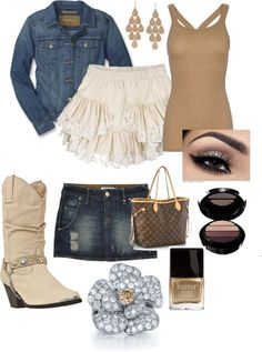 """country outfit"" by shannon-douville-littlefield on Polyvore"