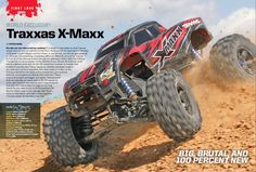 Traxxas X-Maxx I actually ordered mine the day after Traxxas announced this bad boy!