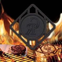 Colorado Rockies Hamburger BBQ Brander
