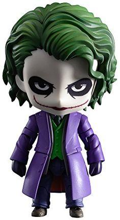 Good Smile The Dark Knight: Der Joker Nendoroid Villains Edition Action Figure Batman The Dark Knight, Batman Dark, Der Joker, Joker Heath, Dc Comics Film, Batman Comics, Anime Figures, Action Figures, Joker Villain