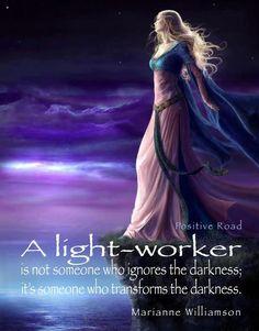 Lightworker )O( ╰☆╮╰☆╮