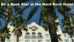 Be a Rock Star at the Hard Rock Hotel.  When you check out, just ask and they will cut your room key to make a guitar pick to take home. How cool is that?