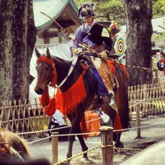 流鏑馬  鎌倉、鶴岡八幡宮にて。 Yabusame. Kamakura,Japan.