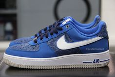 "Nike Air Force 1 Low ""Blue Snake"" (Sample)"