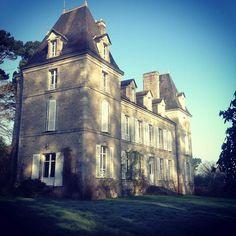 Château de Penfrat in february