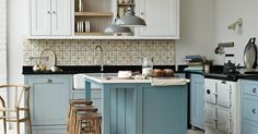 Country Kitchens | Homes and Antiques