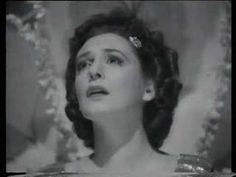 "The one and only Zarah Leander in the movie ""Die Grosse Liebe"" of 1942. It's a wonderful lovesong, written by michael jary and bruno balz.the song was not by any means meant as propaganda from both. the songwriter balz was arrested for some weeks from gestapo and jary helped him become released."