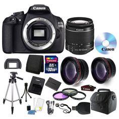 Canon EOS DSLR w/18-55mm lens