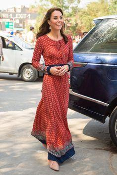 Kate Middleton India 2016