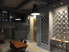 Wall design showroom / 3dwall.com.tr