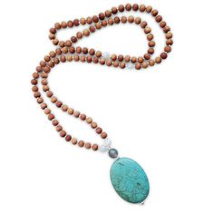 Dyed Howlite, Moonstone, Moss AgateThe Tranquil Mama Mala sets the intention of tranquility, harmony, and balance when communicating with others, and establishi