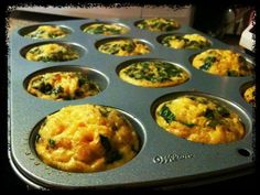 Easter Primal Breakfast Muffins This is the appetizer I took to the parentals home! These little cups of joy were made of egg, bacon, cheese, spinach and onions and were a big hit and I apparently didn*t make enough!