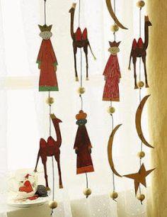 El cuaderno del decorador: Decoración de puertas y ventanas en Navidad