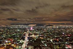 The Night. Mexico City.