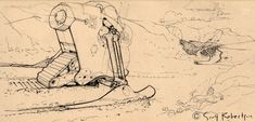 Mechanimal Sketches - DRAWTHROUGH: the personal and professional work of Scott Robertson