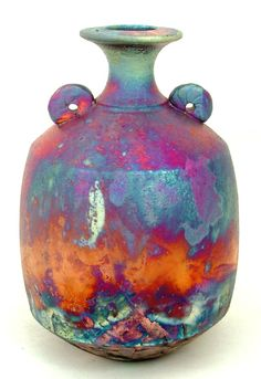 "Saatchi Art Artist: Chris Hawkins; ""Copper Matt bottle"""