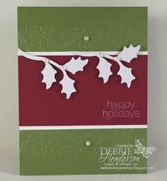 Paper Pumpkin November 2015 Kit. Alternative projects. Debbie Henderson, Debbie's Designs