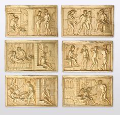 www.hmb.ch | Sechs Reliefs mit dem Ehebruch von Mars und Venus
