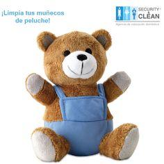 Los #muñecos de #peluche pueden guardar gran cantidad de polvo Es recomendable lavarlos periódicamente  con un poco de detergente y desinfectante