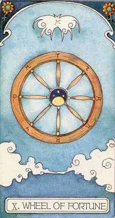 Ceci Tarot -- Wheel of Fortune