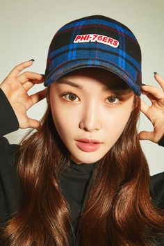 Photo album containing 10 pictures of Chungha Chung Ah, Yuta, She Song, Ioi, Beautiful Voice, Kpop Outfits, Her Music, Korean Singer, Girl Group
