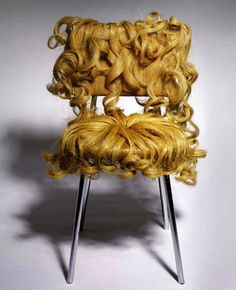 Hairy Furniture by Dejana Kabiljo