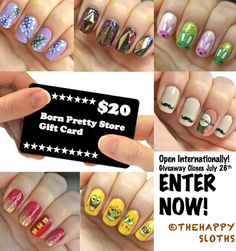 $20 Born Pretty Store Giveaway: Open Internationally!