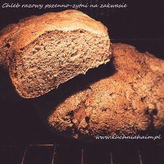 Razowy chleb pszenno-żytni na zakwasie